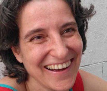 La librera Alba Varela Lasheras, de Librería Mujeres.