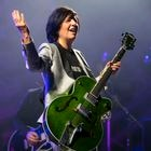 CARDIFF, WALES - AUGUST 24: Sharleen Eugene Spiteri of Texas performs at the Admiral main stage outside Cardiff city hall during Pride Cymru 2019 on August 24, 2019 in Cardiff, Wales. Pride Cymru aims to eliminate discrimination on the grounds of sexual orientation and gender and promote LGBT+ equality and diversity within Wales. (Photo by Matthew Horwood/Getty Images)