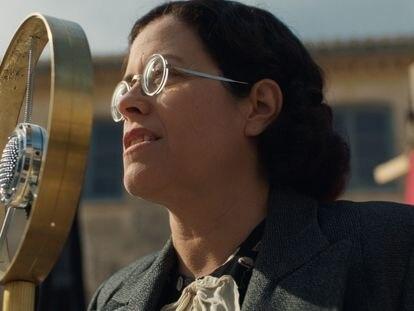 La actriz Màrcia Cisteró encarna a Frederica Montseny en la película.