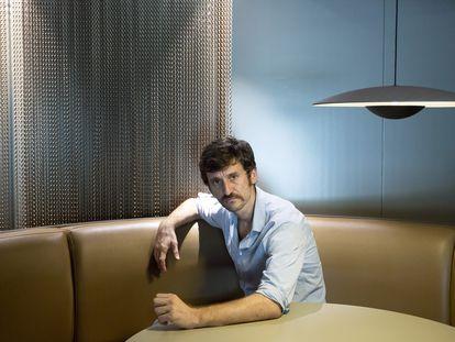 Raúl Arévalo, ayer al mediodía en el hotel AC Málaga Palacio.