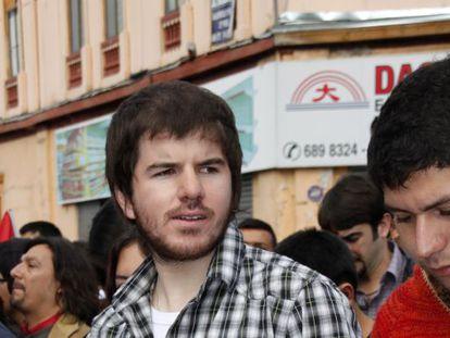 Giorgio Jackson, líder estudiantil chileno.