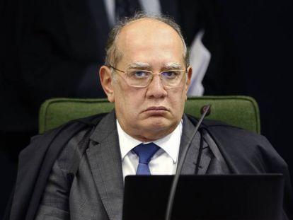 El juez del Supremo Gilmar Mendes, el pasado 13 de junio.