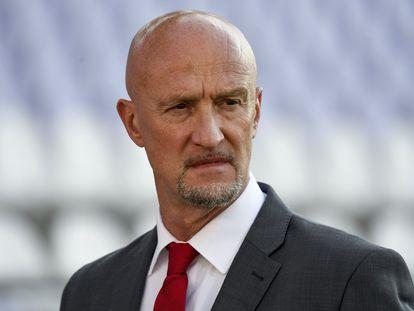 Marco Rossi, seleccionador de Hungría.