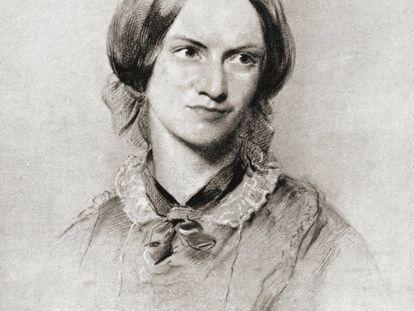 Retrato de Charlotte Brontë.