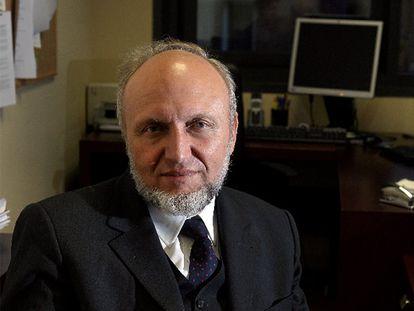 El presidente del Instituto de Investigación Económica (IFO), Hans-Werner Sinn, en Barcelona.