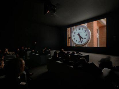 Proyección de 'The Clock', de Christian Marclay.