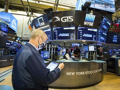 La Bolsa de Nueva York, el pasado viernes, 26 de junio.
