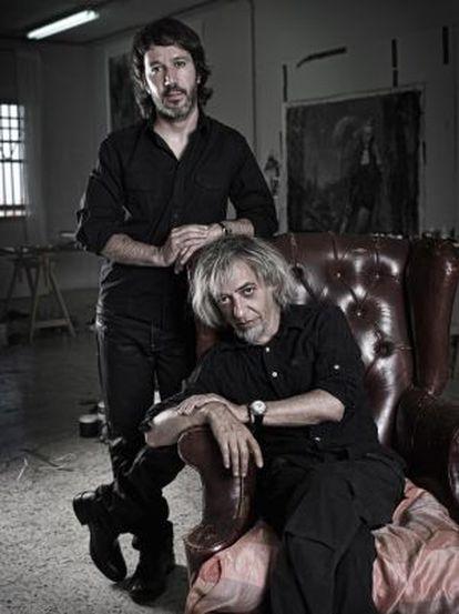 Rómulo y Luis Royo