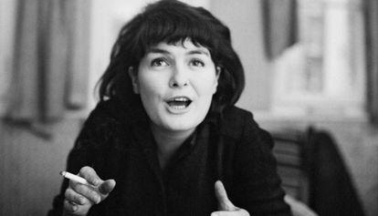 Ann Quin, en una instántanea de finales de los 60.