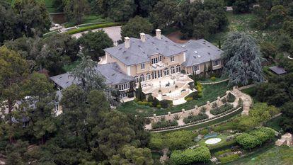 El hogar de Oprah Winfrey en Montecito, California.