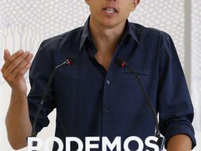 Íñigo Errejón, 'número dos' de Podemos.