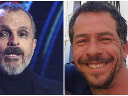 Miguel Bosé y Nacho Palau.