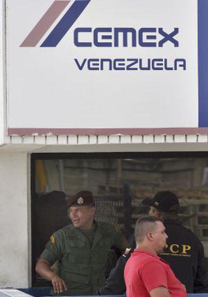 Sede de Cemex en Maracaibo cuando fue expropiada en 2008
