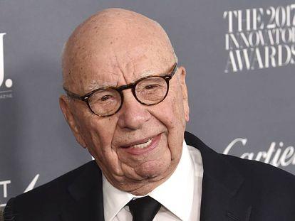 El empresario de los medios de comunicación Rupert Murdoch el pasado noviembre