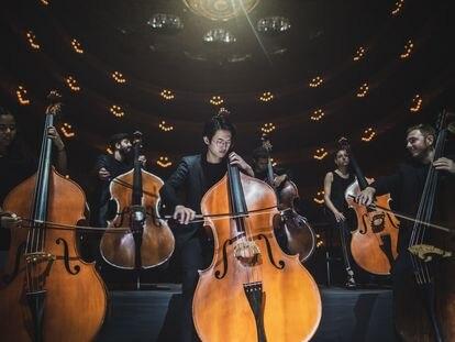 Una de las escenas del concierto que se puede ver en 'Symphony', la producción que ha elaborado la Fundación La Caixa de la mano de Gustavo Dudamel.