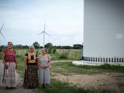 Una septuagenaria mexicana frente a las eólicas internacionales