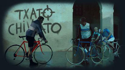 Fotograma de la serie 'Patria'.