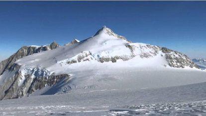 Vinson, la cima de la Antártida