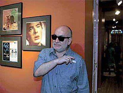 Gerardo Vera, en la exposición <i>la música de mis sueños</i>.