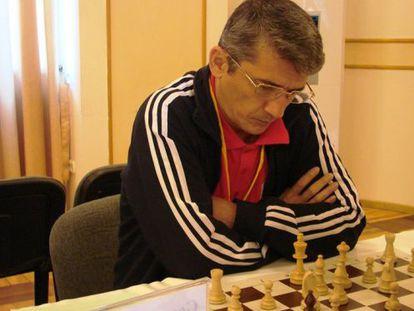 Alisher Anarkúlov, en la web de los campeonatos de ajedrez de Kazajistán.