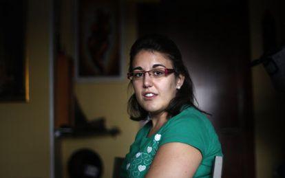 Esther Chumillas Moreno, paciente con pérdida de memoria visual.