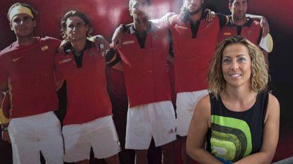 Gala León, nueva capitana del equipo de Copa Davis.