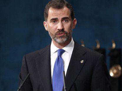 El Príncipe apela al Estado de derecho en referencia al pulso soberanista