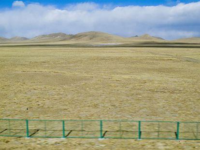 El cambio climático y la actividad humana están provocando que la desertificación en Tíbet se expanda a un ritmo de 2.330 kilómetros cuadrados al año.