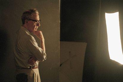 Woody Allen en el Festival de cine de Venecia de 2003.