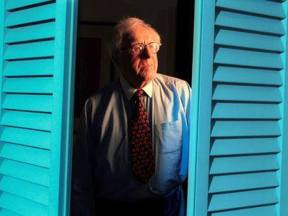 Ray Bradbury, en su casa de Los Ángeles en una imagen de archivo tomada en octubre de 2000.