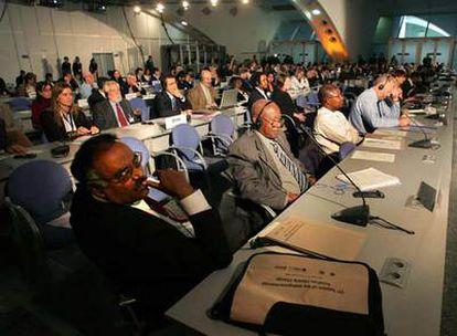 Delegados de los 130 países, reunidos en la Ciudad de las Artes de Valencia.