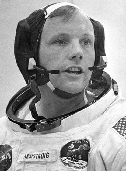 Neil Armstrong<b><i>.</b></i> Ohio, 5 de agosto de 1930. Alunizó con el <i>Apollo 11</i> el 21 de julio de 1969. Retirado de la vida pública desde 1971.