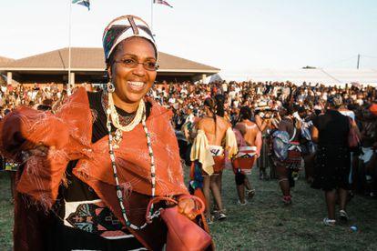 Mantfombi Dlamini Zulu, en un festival cerca de Durban en 2013.