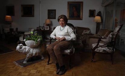 María Rosa Boceta, este jueves en Madrid.