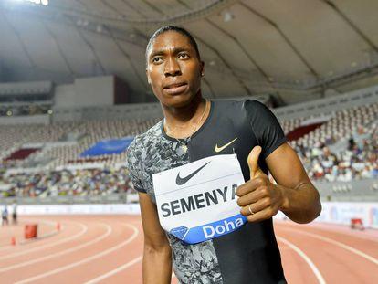 La atleta Caster Semenya.