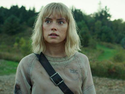 Daisy Ridley y Tom Holland, en 'Chaos Walking'.