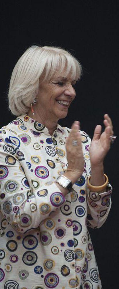 La alcaldesa de Cádiz, Teófila Martínez.