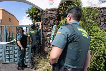 Segundo registro de la Guardia Civil en el domicilio de Tomás Gimeno, el padre de Anna y Olivia, las dos niñas desaparecidas en Tenerife.