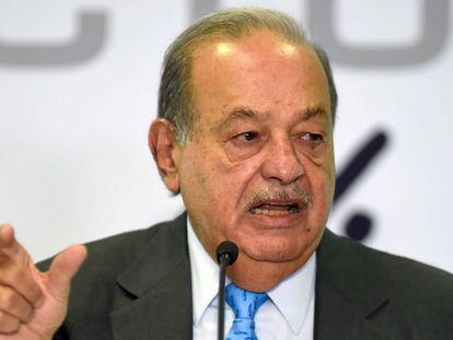 El empresario mexicano Carlos Slim, en una foto de archivo.