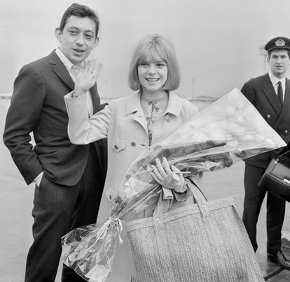 Gainsbourg con France Gall, en 1965.