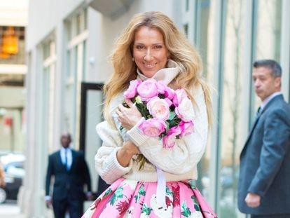 Céline Dion, en Nueva York el pasado marzo.
