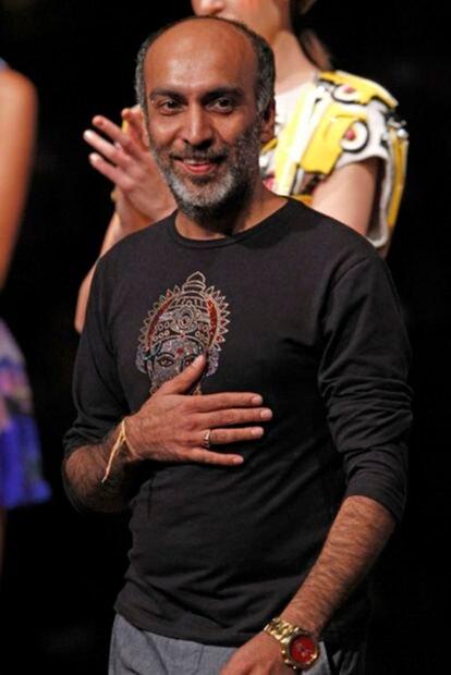 El diseñador indio Manish Arora.