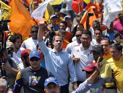 El líder de la oposición en Venezuela, Juan Guaidó.