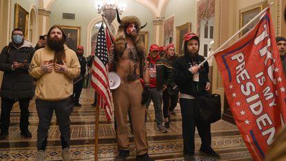 Asalto al Capitolio por partidarios de Donald Trump el pasado 6 de enero.