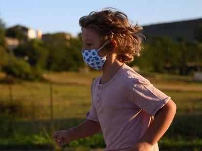 Cantabria apuesta este curso escolar por el uso masivo de la mascarilla en sus centros educativos.