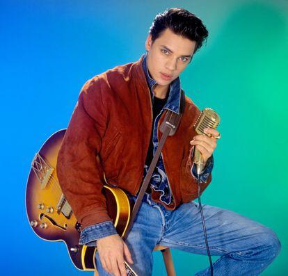 Nick Kamen, en una imagen de 1986.