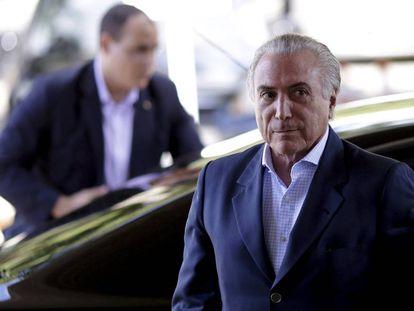 El vicepresidente de Brasil, Michel Temer.