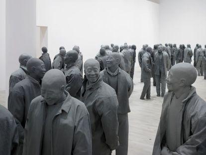 'Many Times', de Juan Muñoz, 1999.