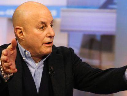 Ronald Perelman, durante una entrevista.