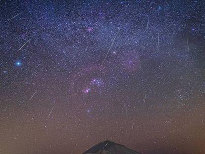 Lluvia de las Gemínidas desde el Observatorio del Teide. En vídeo, así fueron las Gemínidas 2019.